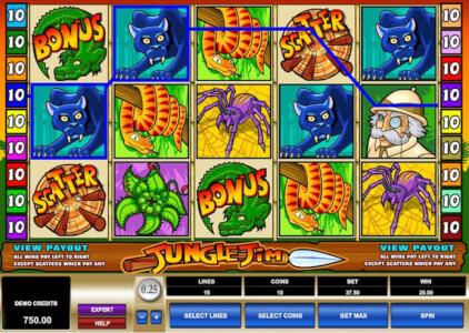 jungle jim screenshot